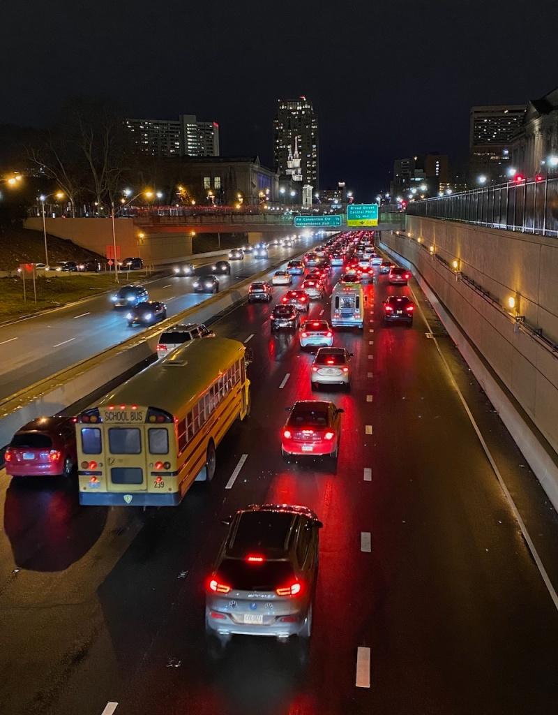 commute traffic in Philadelphia