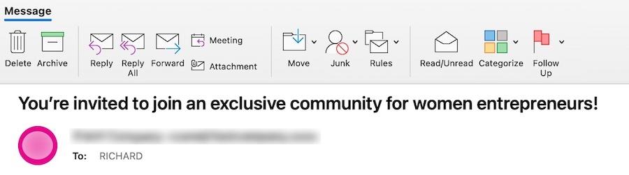 email header image