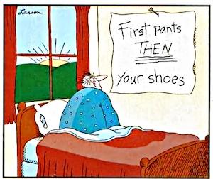 Larson morning Cartoon