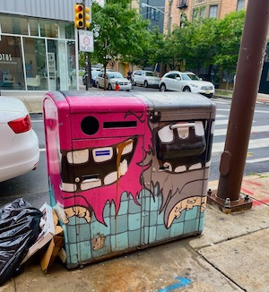 Garbage Cans in South Philadelphia