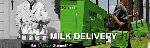 milk delivery then and now