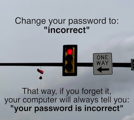 red light with password joke