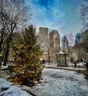 Winter Day in Philadelphia