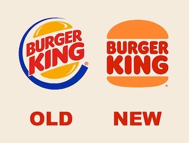 Burger King logo change