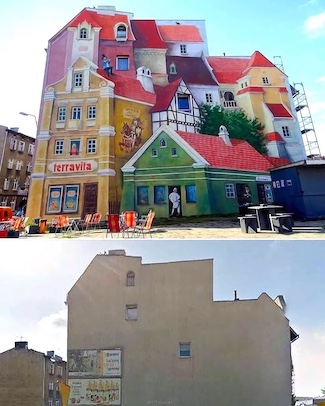 Mural in Poland
