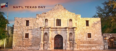 Alamo Fort in Texas