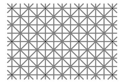 black dot visual trick