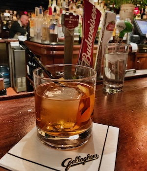 old fashioned drink in NYC