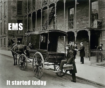 ambulance in NYC late 1800's