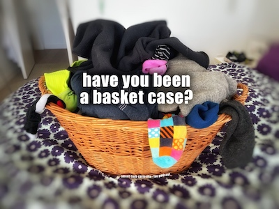 basket full of laundry