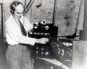 Lee De Forest, father of radio