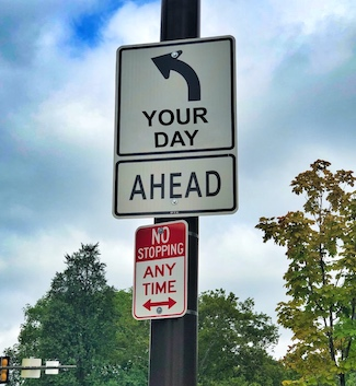 road signs in life