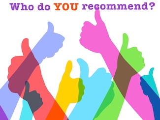 who do you endorse for any product or service?