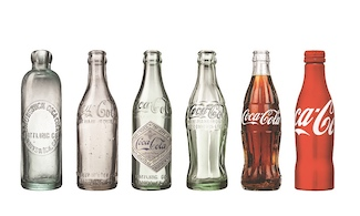 Coca Cola bottle changes