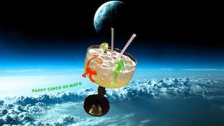 margarita in space orbit