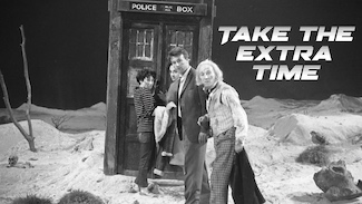 Doctor Who with a time travel message