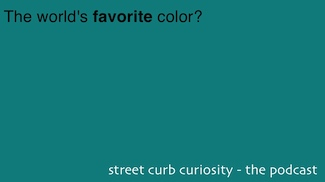 the world's favorite color:  Marrs Green