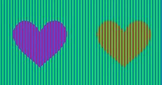 color visual illusion