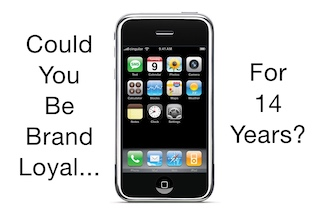Original iPhone back in 2007