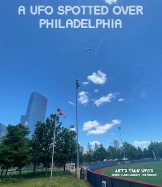 UFO photo from Philadelphia, Memorial Day weekend 2021