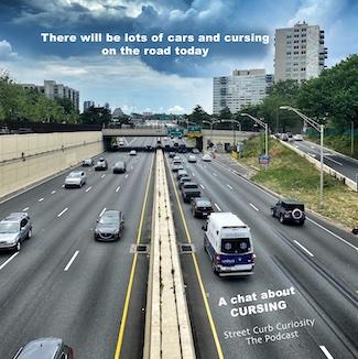 vehicle traffic on busy highway inPhiladelphia