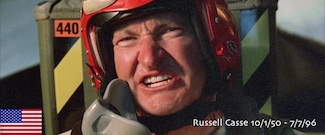 Russel Casse in the movie Independence Day