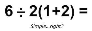 mathematical equation that appears easy to solve