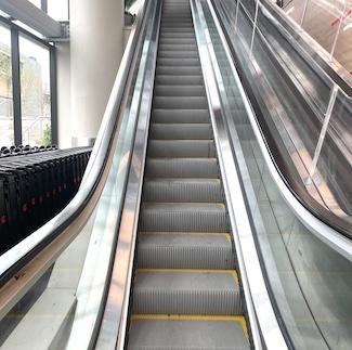 broken escalator