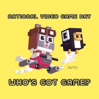 Screen Shot of Shooty Skies for national Video Games Day in September