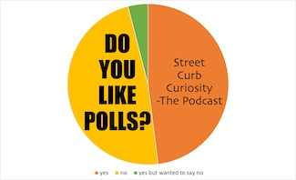 poll results about polls for a podcast